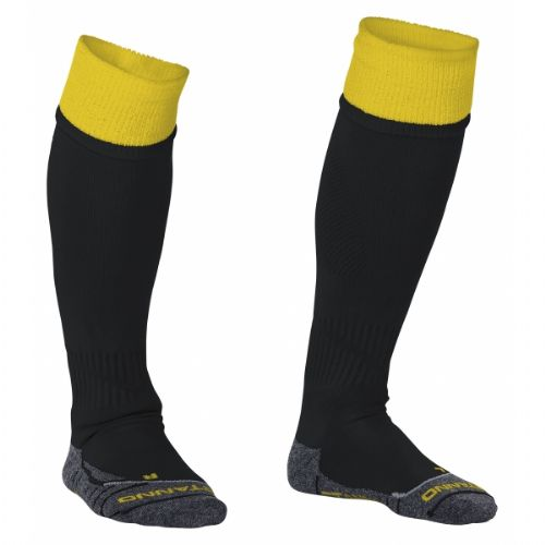 Reece Combi Socks Black/Yellow Unisex Senior